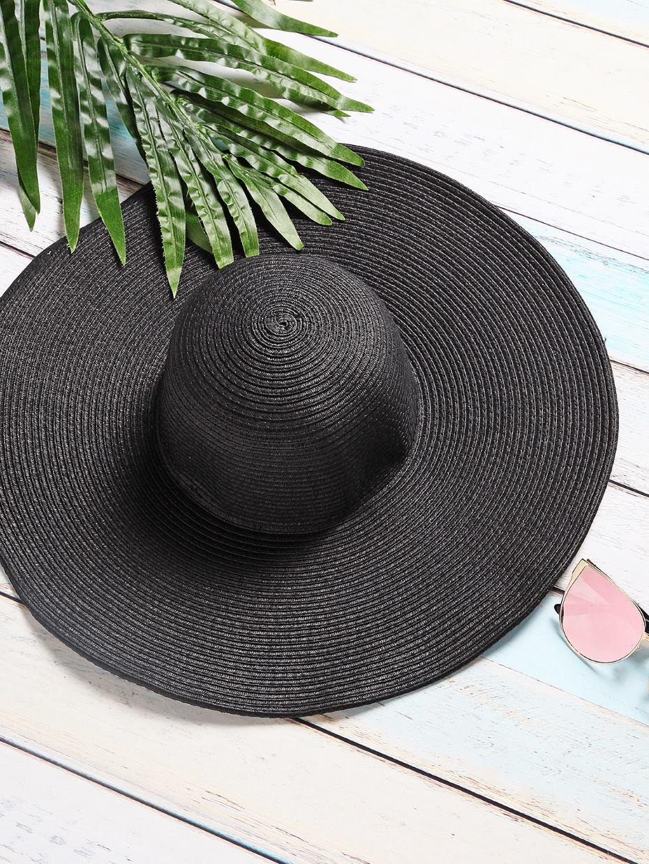 Cappello in paglia nero
