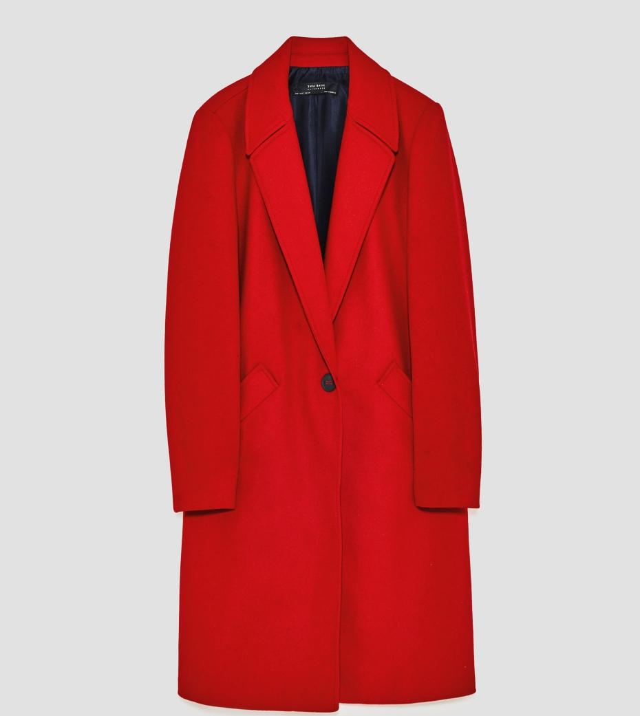 Cappotto rosso abbinamento
