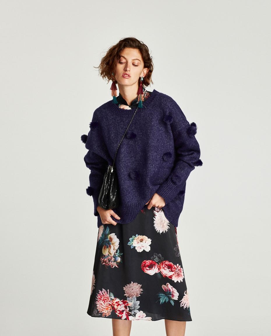 maglione sopra vestito abbinamento