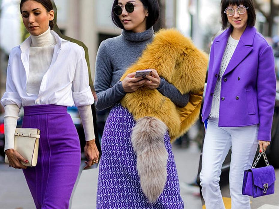 Come abbinare il colore ultra violet