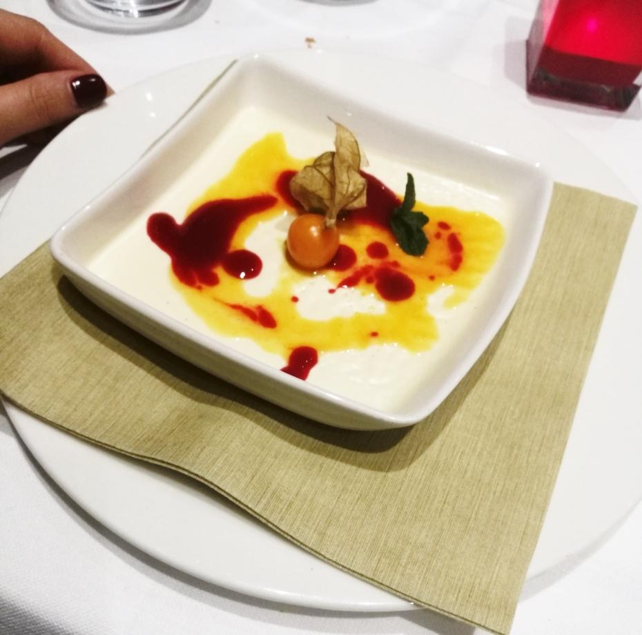 Dessert collina d'oro