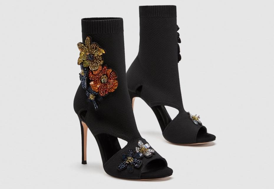 scarpe tacco a spillo zara