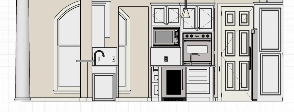 Kitchen Elevation| Stone Oak Interior Designer