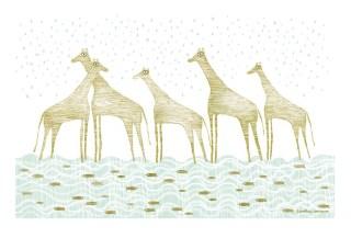 Jirafas de lluvia