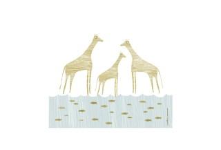 Tres jirafas de mar