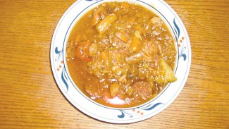 This Polish hunter's stew warms a cold day