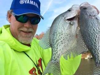 Crappie are a great target for kayak-bound anglers in the spring, when fish get shallow in places paddlecraft are welcome.