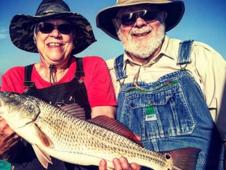 Spring redfish are on the lookout for the baitfish and shrimp that are arriving in inshore waters, and they'll be feeding aggressively, which makes a spoon a great lure to throw.