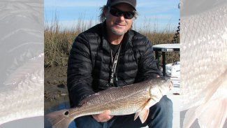 Try Bald Head Island's marshes for winter redfish