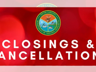 SCDNR cancelations
