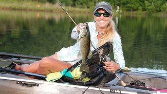 Catch spawning bass in smaller waters
