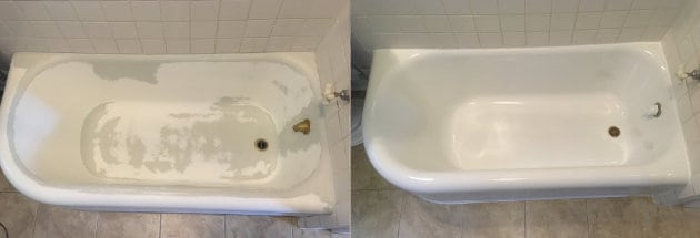 high quality bathtub reglazing services