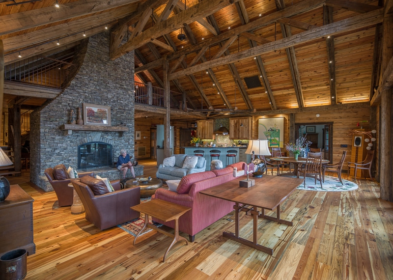 Post And Beam Homes Are Sustainable Buildings