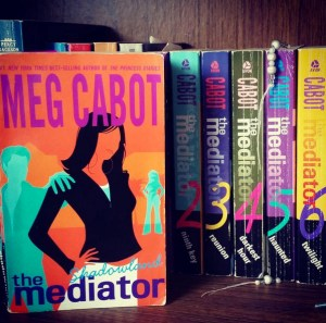 """The Mediator"" series by Meg Cabot."