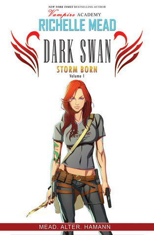 Richelle Mead's The Dark Swan: Storm Born Book Cover
