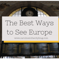 The Best Ways to See Europe