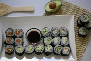 At-Home Sushi Rolls {Recipe ReDux}