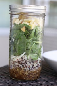 Canning Jar Salads