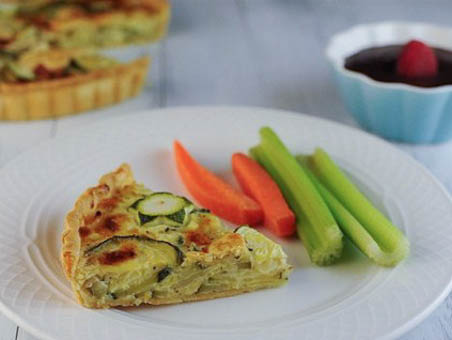 """The savory pie is mild and simple enough to appeal to the palates of kids"""