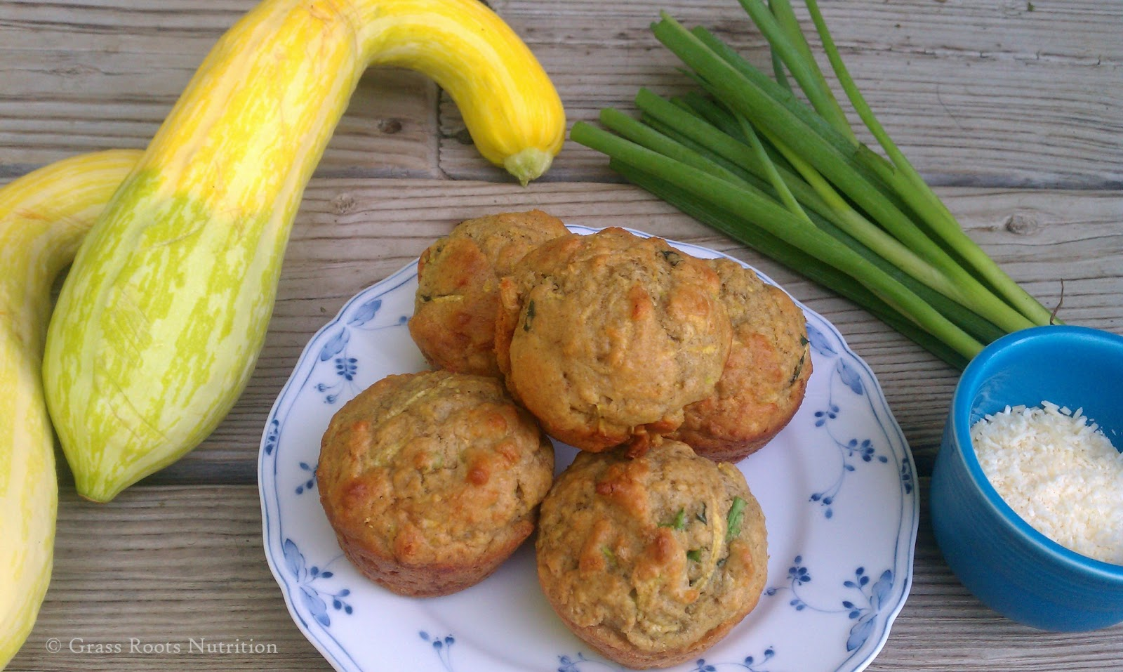 Tired of all those sweet zucchini desserts? Here's a SAVORY recipe for you!