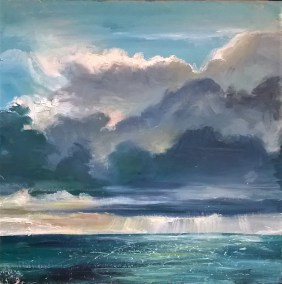 AFTER THE STORM Oil on board
