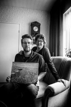 Jelte Pieter Dijkstra en tante Janny