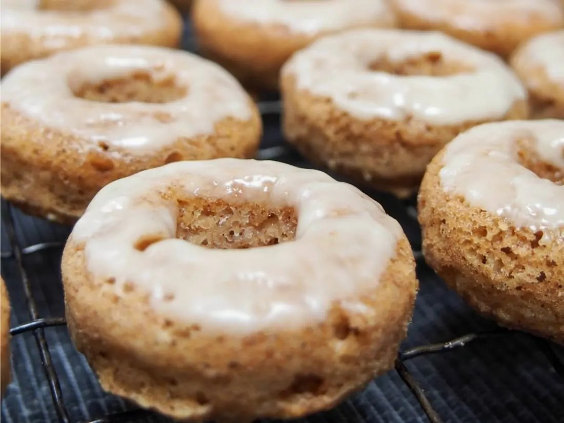 maple apple donuts
