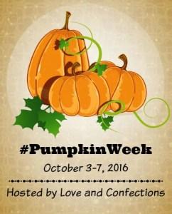 pumpkin week 2016