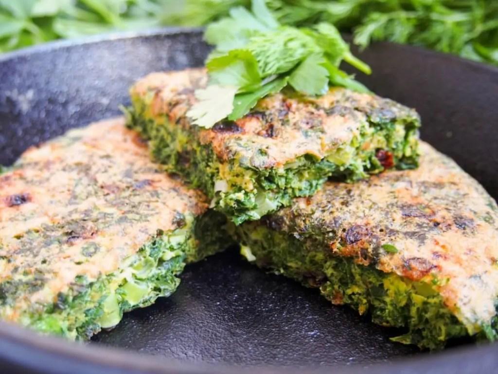 Kuku sabzi – Persian herb frittata