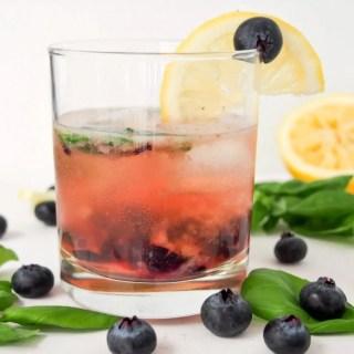 bashful blueberry cocktail