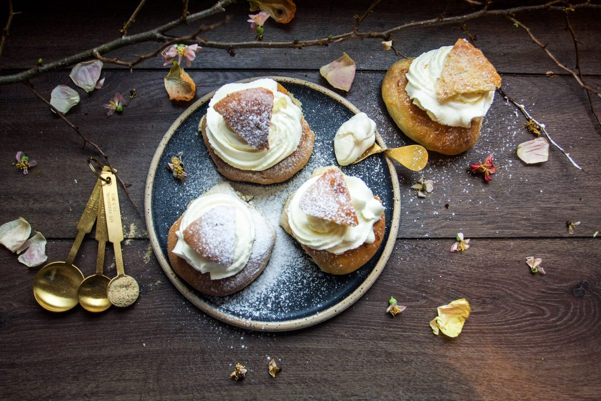 The Swedish Semla – a cream puff