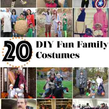 20 DIY Family Halloween Costumes