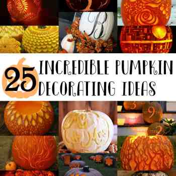 25 Incredible Pumpkin Decorating Ideas