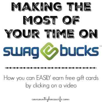 Making the Most From Swagbucks