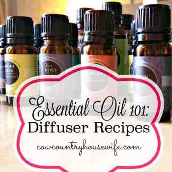 Essential Oil 101: Diffuser Recipes