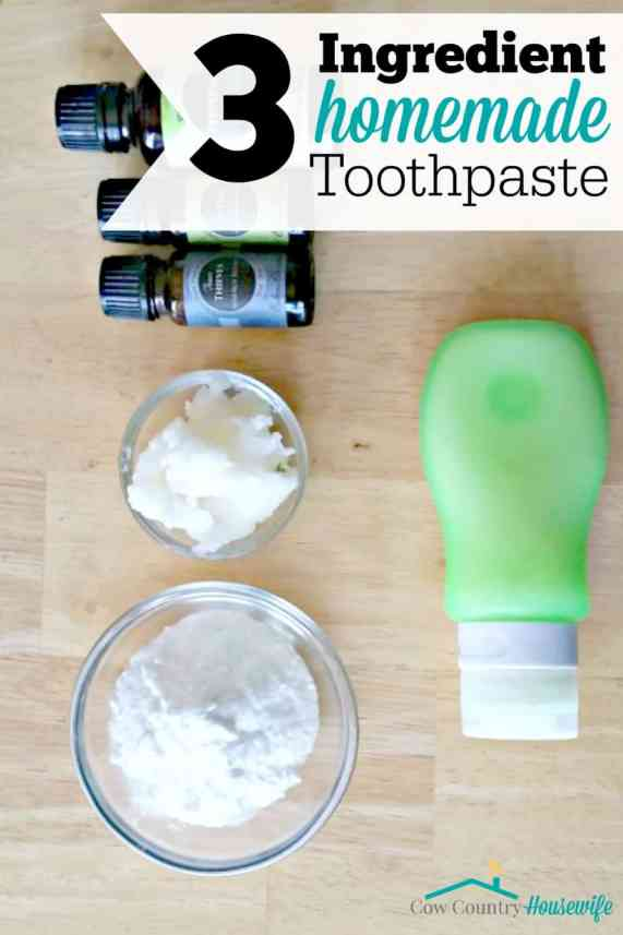 I can't believe how much she saves making toothpaste from ingredients in her kitchen. It's safe for the whole family, too! And it looks so easy!