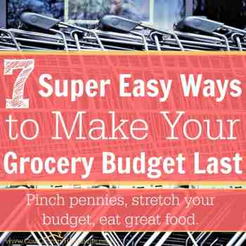 7 Super Easy Ways To Make Your Grocery Budget Last