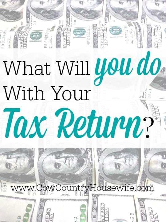 It's tax return season! You can't go out without seeing expensive things to spend your money on. What Will YOU Do With Your Tax Return? Here's a few ideas..