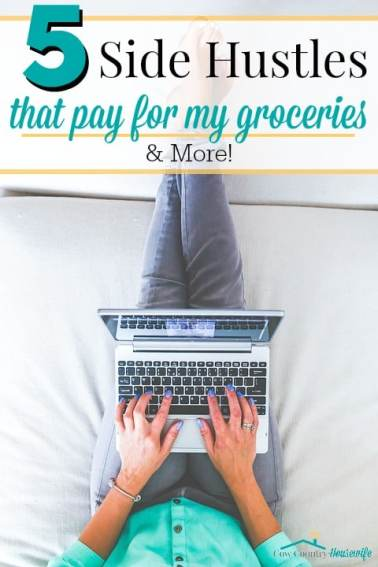 She makes more than $700 a month JUST from her non-sales side hustles! I really hate selling things to people, so I was so glad to find these non-sales-y ways to make money. In the first month, I was able to pay for groceries for my family of 5 for a month just off of my side hustles, and now I can pay for even more! #5 is obviously my favorite! She makes more than $1,500 a month just from side hustles! I can't wait to give these a try for myself. I'm a mom, so I need flexibility. I love reading this from another mom who knows how to make it all work! I really want to start using these NOW! Side hustle ideas. Side hustle passive income. Make money at home. Make money online fast. Side hustles for moms.