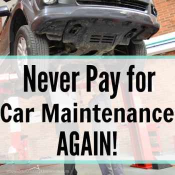 Never Pay For Car Maintenance Again
