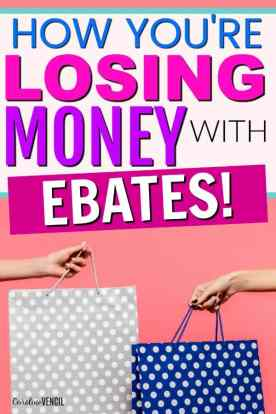 This is AMAZING! If you've ever wondered how does Ebates work or what Ebates is, this is EXACTLY what you need! I was losing SO much money not using the Ebates Chrome Extension!! Saving money with Ebates the easy way with Ebates stores.