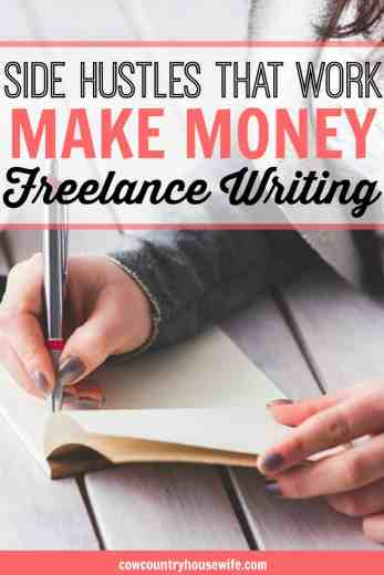 This is great! If you love to write, but don't want to have a blog, freelance writing is for you. Make money freelance writing with some of the best paying websites on the internet. You can make more than $100 per post you submit to many sources. These are so great! If you want to learn how to make extra money right now, then you've come to the right place. Here's how to make money and how to make money online! 30+ Real Ways to Earn Money From Home. Make money as a stay at home mom. Easy ways to make money from home Real ways to make money form home. Legit ways to earn more money. Side hustles that work. Earning extra money. Make money. Make money online. Make money at home. Make money fast. Make more money. Make more money fast. Make more money ideas. Make more money extra cash. Make more money fast. Making money from home. Making money at home. Making money fast. How to make money from home. How to make extra money on the side. How to make money from home. How to make money online.