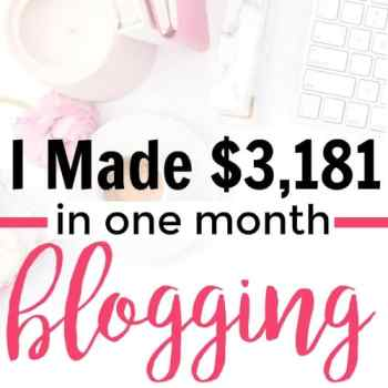 This is amazing! She shares how to make money blogging. I love her income reports! She shares what works and what doesn't work to help teahc you how to start your own blog. I love her blog and I've been following her blog since the beginning. I love to see how much she grew her blog! It's so inspiring that she could grow her blog so quickly! January 2017 Blogging Income Report