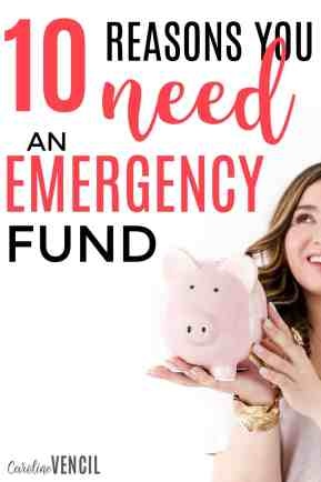 These are amazing. I never thought about an emergency fund like this! Reasons you NEED an emergency fund. Why is having an emergency fund so important? Can you afford to have an emergency fund? How do you save for an emergency fund? Save money. How to save money. Why you need to save money.