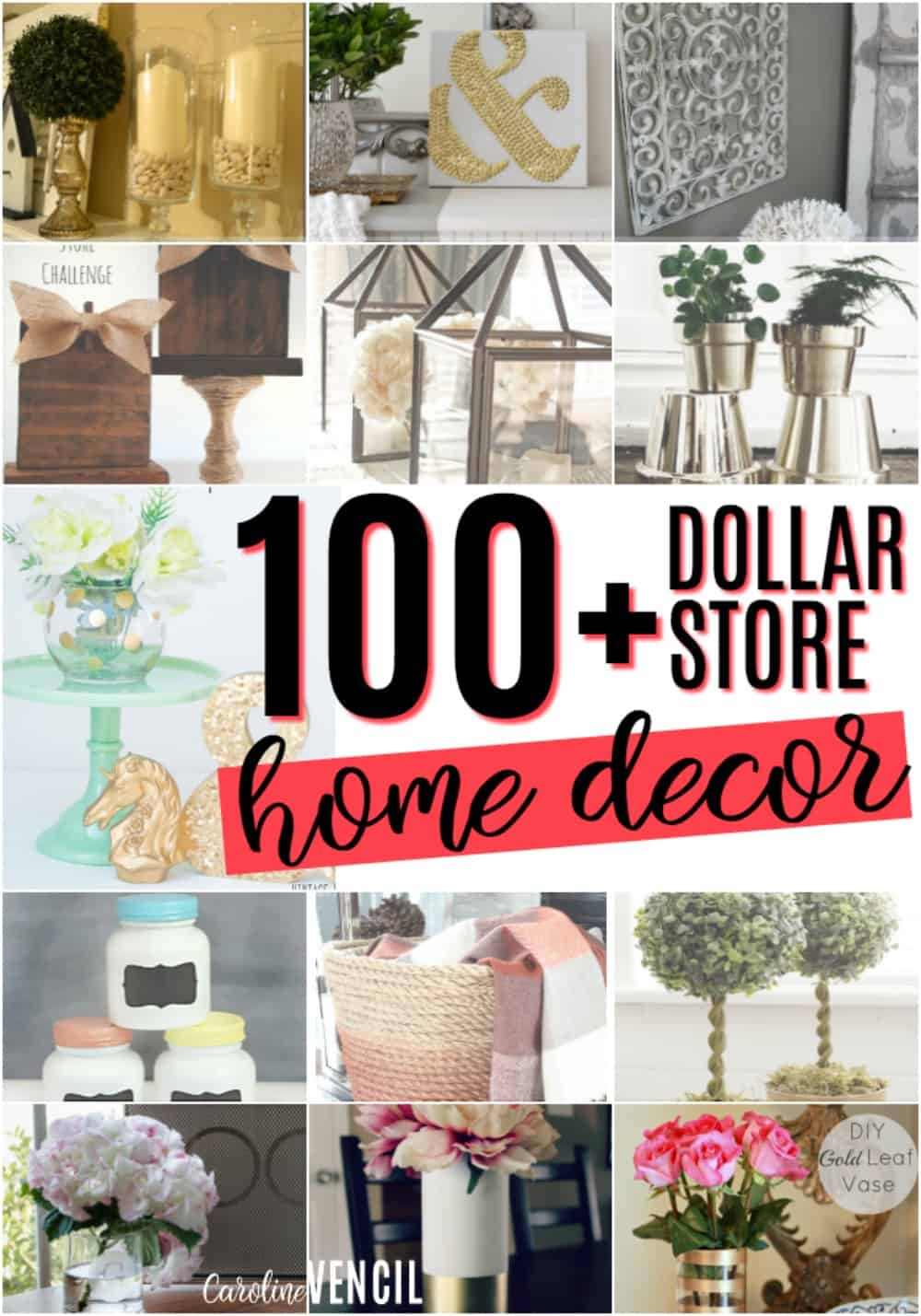 Awesome These Dollar Store Decor Hacks Are THE BEST! Iu0027m So Glad I Found