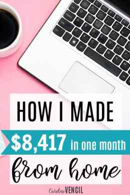 This is amazing! She shares how she makes money from home and how she makes money blogging! I love her income reports! They're so helpful and inspiring! How to make money blogging. Make money as a stay at home mom. How to make money from home. Blogging income report. Income from blogging. Make money from home. Making more money. February 2017 Blogging Income Report