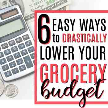 6 Steps to Drastically Reduce Your Grocery Budget