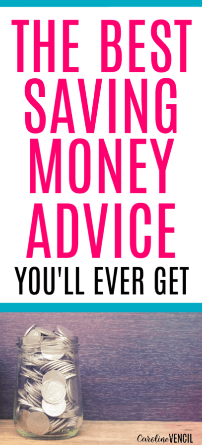 The Best Money Saving Advice, tips and ideas to help you learn how to start a budget and how to start saving money for beginners. Find out the best tricks to saving money fast and easy.