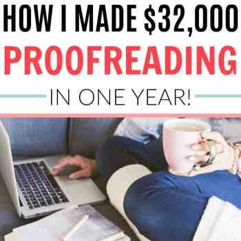 Make a Full Time Income From Home Proofreading