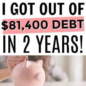 Top 10 Things I Did to Pay Off Debt in 2 Years